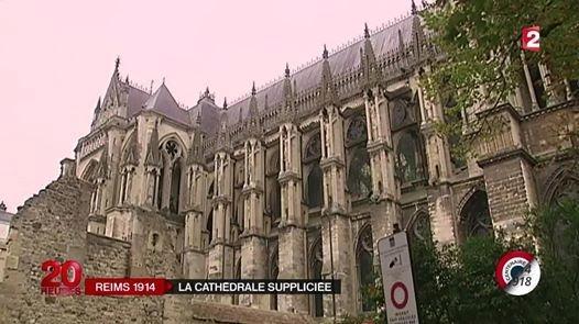 Reportage sur la «cathédrale suppliciée», 20 h de France 2