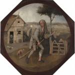 Jérôme Bosch, Le Vagabond, vers 1450-1516