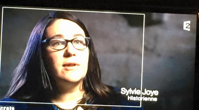 Sylvie Joye dans «Secrets d'histoire»