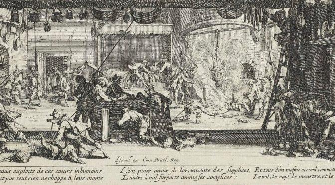 Ecrire l'histoire de la violence (époque moderne)