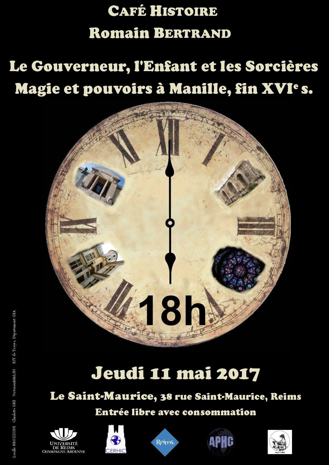 PROCHAIN CAFE HISTOIRE, JEUDI 11 MAI – ROMAIN BERTRAND
